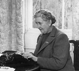Agatha Christie en pleine action