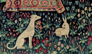 La dame à la licorne, détail (XVe siècle)