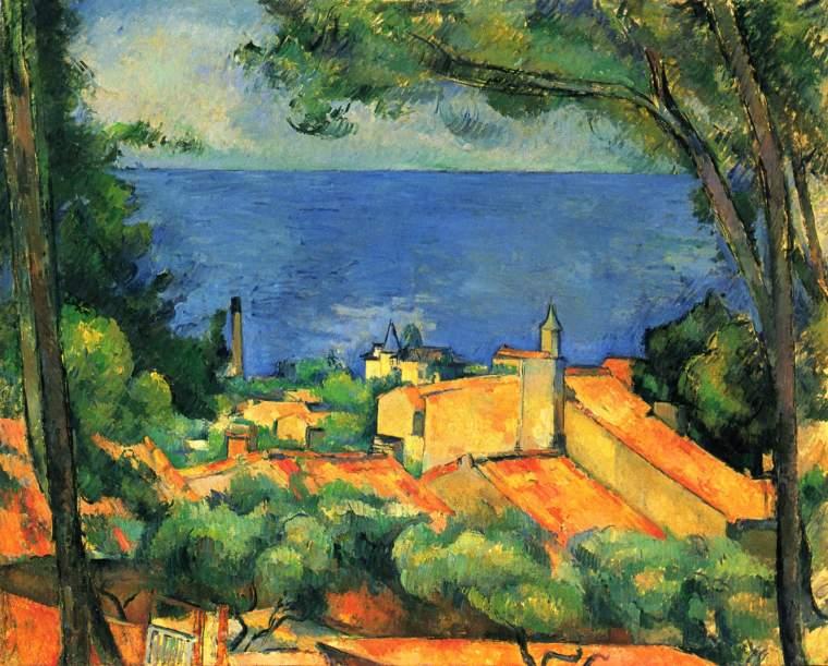 Paul Cézanne, Le golfe de Marseille vu de l'Estaque, 1886