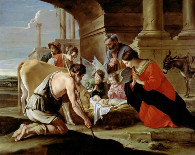 Le Nain - L'adoration des bergers
