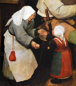 Bruegel, Danse paysanne (détail)
