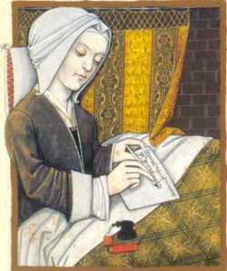 Margery Kempe, béguine, mystique, ancêtre des blogueuses et auteur du Book of Margery Kempe (XVe siècle)