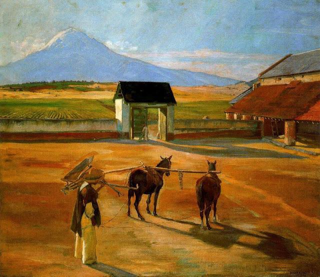 Diego Rivera, La era (1904)