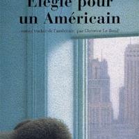 Elégie pour un Américain, de Siri Hustvedt